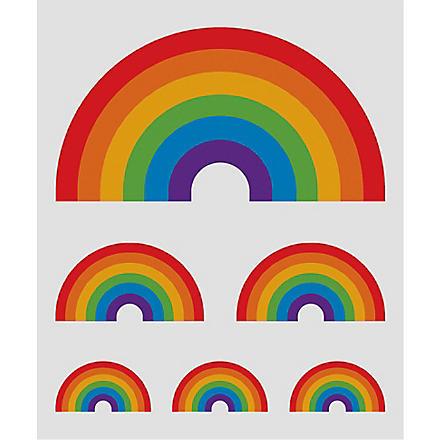 TATTLY Rainbow temporary tattoo
