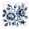 TATTLY Cartolina Blooms temporary tattoo