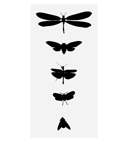 TATTLY Bug study temporary tattoos