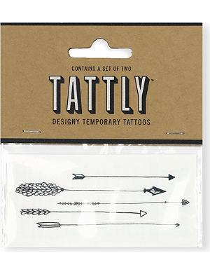 TATTLY Arrows temporary tattoo