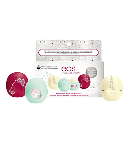 EOS Limited Edition Decorative Lip Balm Collection