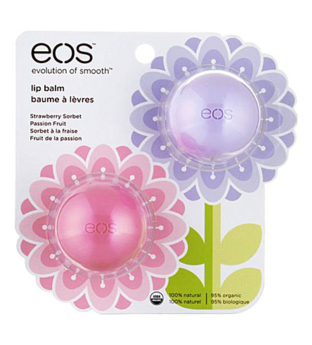EOS Limited Edition Spring lip balm duo