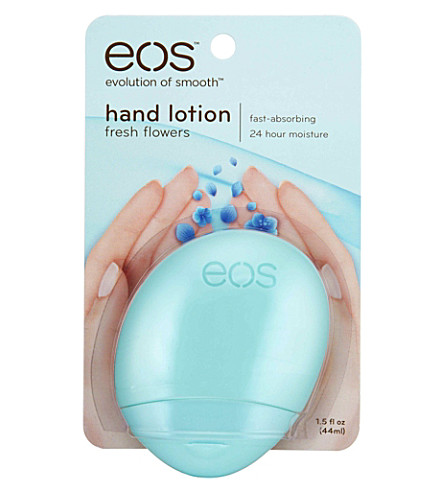 EOS Fresh Flowers hand lotion
