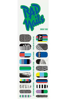 RAD NAILS Boob Tube nail wraps