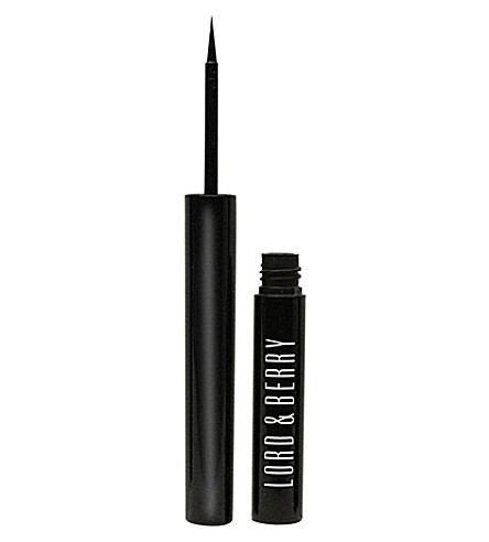 LORD & BERRY Liquid eyeliner - Forever Black