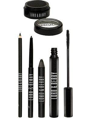 LORD & BERRY Black Wardrobe make-up set