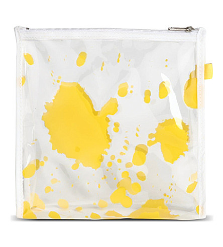 SELFRIDGES Splat make-up bag