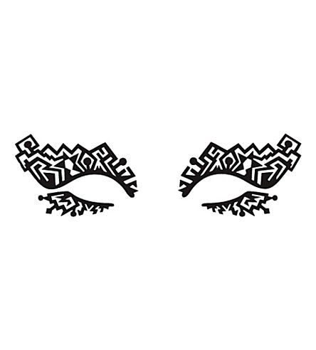 FACE LACE Tribaldelic lace eye design