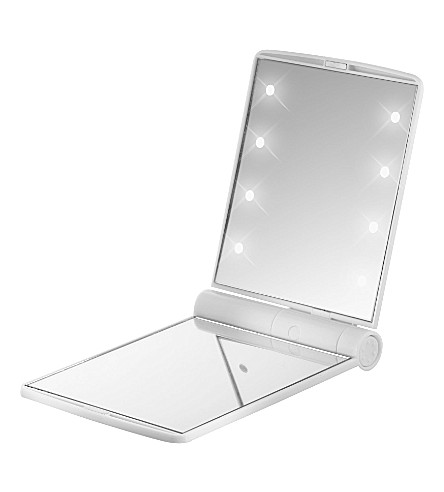 FLO Celebrity LED travel mirror (White