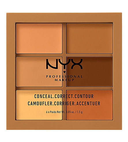 NYX COSMETICS Conceal, Correct, Contour Palette (Deep