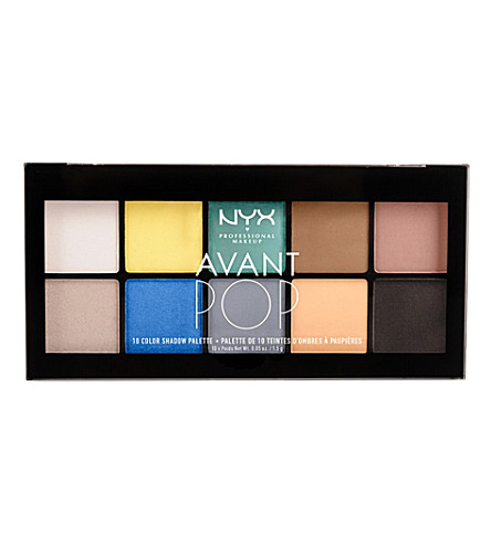 NYX COSMETICS Avant Pop! Shadow Palette in surrreal my heart (Surreal+my+heart