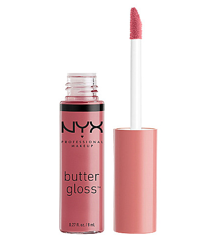 NYX COSMETICS Butter Lip Gloss (Angel+food+cake