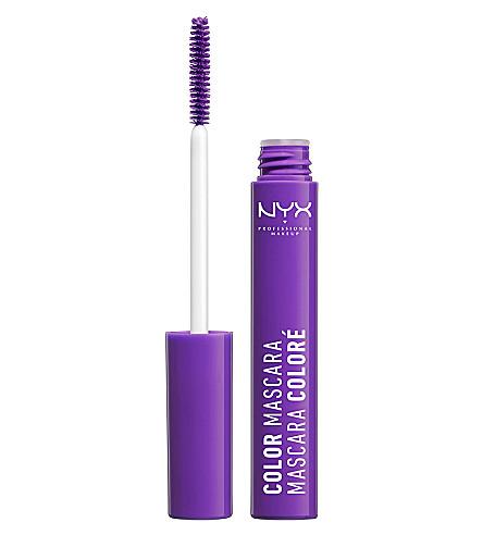 NYX PROFESSIONAL MAKEUP Colour mascara (Purple