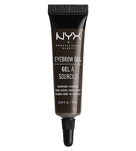 NYX COSMETICS Eyebrow gel (Black