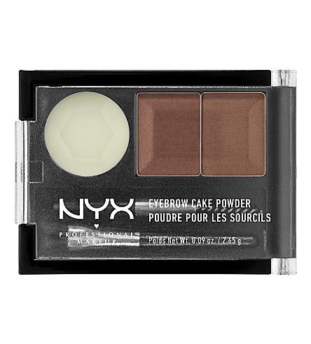 NYX PROFESSIONAL MAKEUP Eyebrow Cake Powder (Auburn+/+red