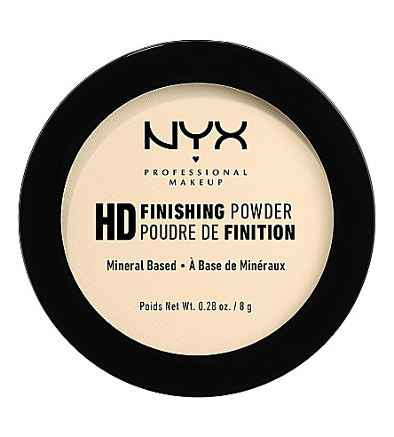 NYX PROFESSIONAL MAKEUP High-definition finishing powder (Banana