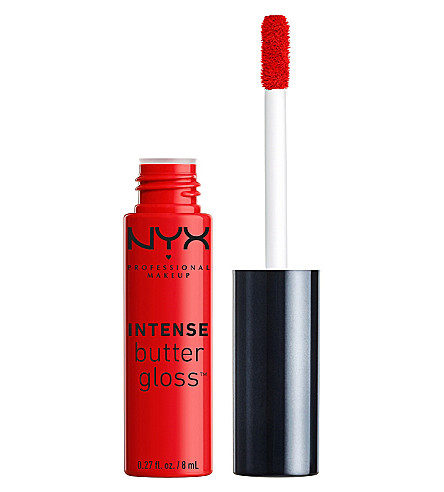 NYX PROFESSIONAL MAKEUP Intense Butter lipgloss (Apple+crisp