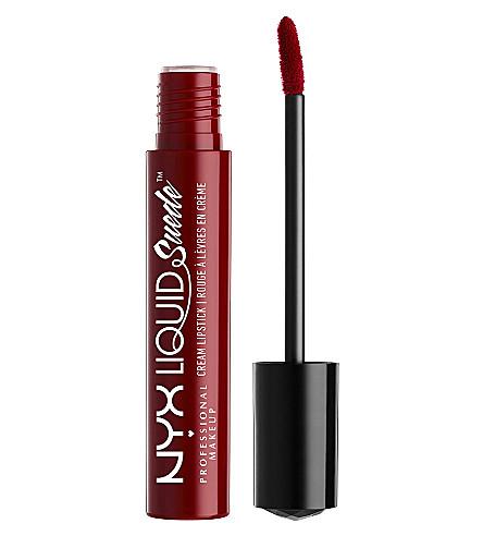 NYX PROFESSIONAL MAKEUP Liquid Suede Cream Lipstick (Chry skies