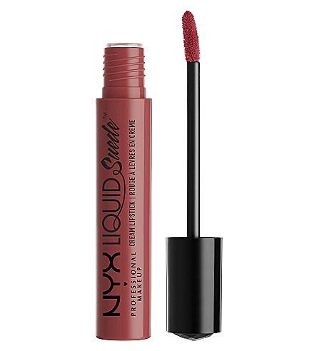 NYX PROFESSIONAL MAKEUP Liquid Suede Cream Lipstick (Sft-spoken