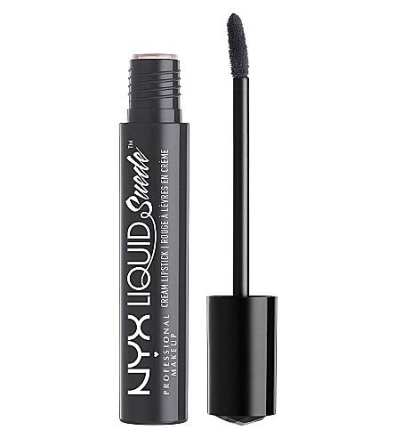 NYX PROFESSIONAL MAKEUP Liquid Suede Cream Lipstick (Stone fox