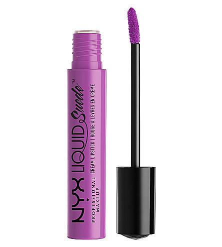 NYX PROFESSIONAL MAKEUP Liquid Suede Cream Lipstick (Sway