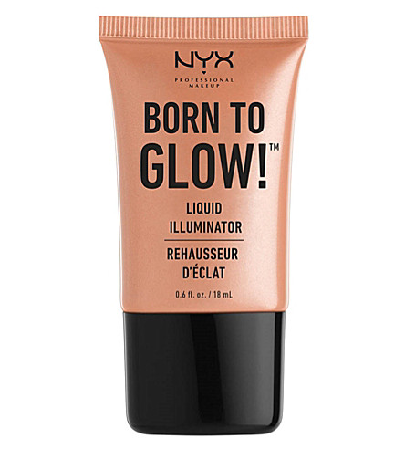 NYX PROFESSIONAL MAKEUP Born to Glow liquid illuminator (Gleam