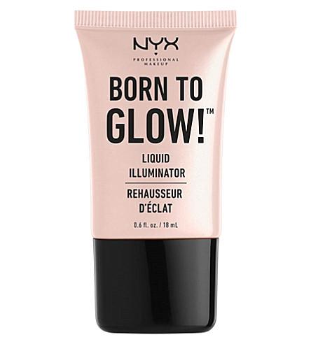 NYX PROFESSIONAL MAKEUP Born to Glow liquid illuminator (Sunbeam