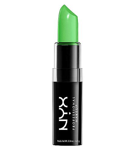 NYX COSMETICS Macaron lipstick (Key+lime