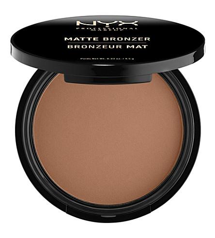 NYX PROFESSIONAL MAKEUP Matte body bronzer (Deep tan