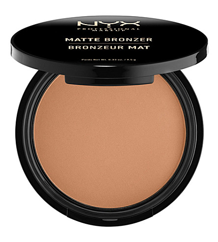 NYX PROFESSIONAL MAKEUP Matte body bronzer (Light