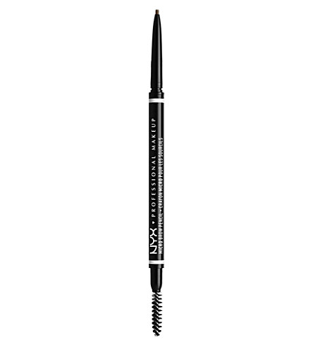 NYX PROFESSIONAL MAKEUP Micro brow pencil (Ash+brown