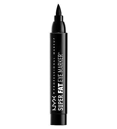 NYX PROFESSIONAL MAKEUP Super fat eye marker carbon black (Carbon+black