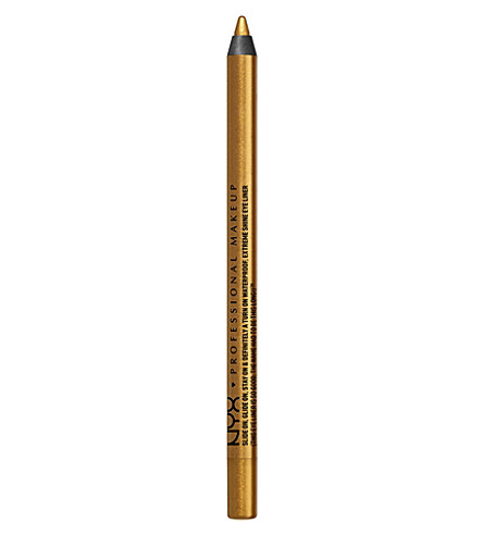 NYX COSMETICS Slide-on pencil eyeliner (Glitzy gold