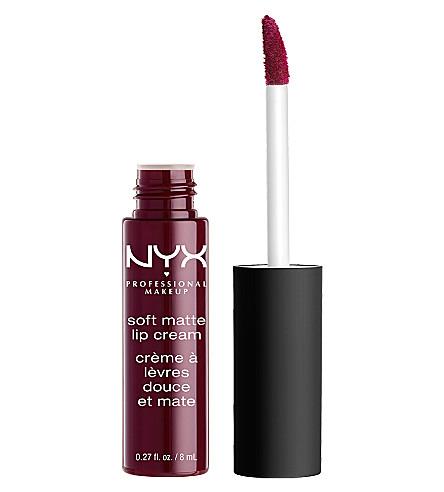 NYX PROFESSIONAL MAKEUP Soft matt lip cream (Copenhagen