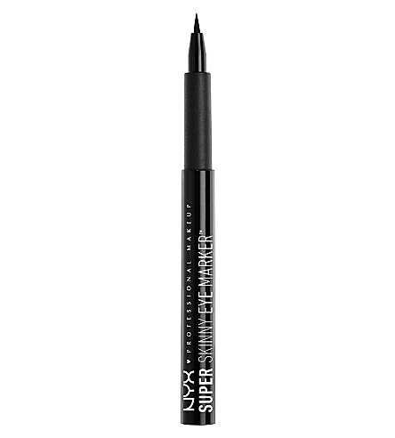 NYX PROFESSIONAL MAKEUP Super skinny eye marker (Carbon+black
