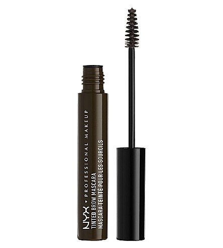 NYX PROFESSIONAL MAKEUP Tinted Brow Mascara (Black
