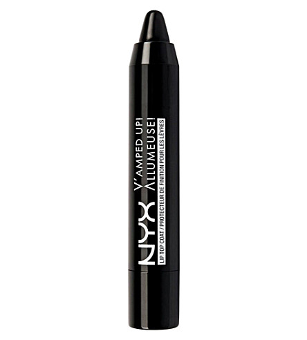 NYX PROFESSIONAL MAKEUP V'amped up! lip top coat (Black