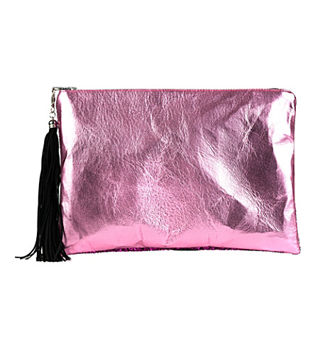 LISA BEA Sparkle large pouch