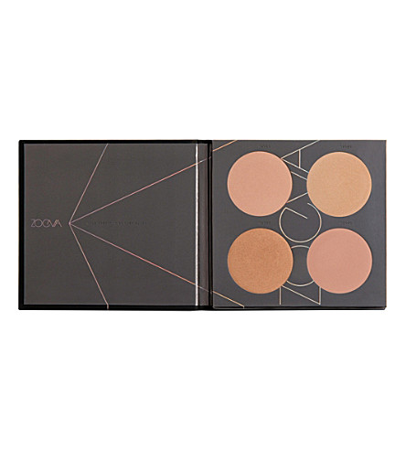 ZOEVA Nude Spectrum Blush Palette (Nude+spectrum