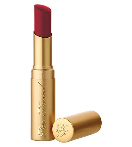 TOO FACED La Crème Color Drenched Lipstick (90210+ohhh