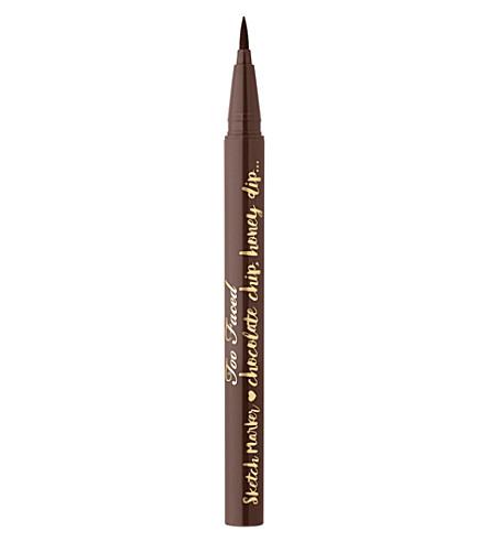 TOO FACED Sketch Marker eyeliner (Deep espresso