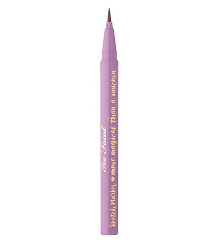 TOO FACED Sketch Marker eyeliner (Deep lilac