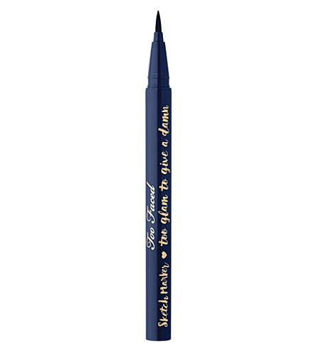 TOO FACED Sketch Marker eyeliner (Deep navy