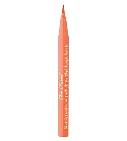 TOO FACED Sketch Marker eyeliner (Papaya peach