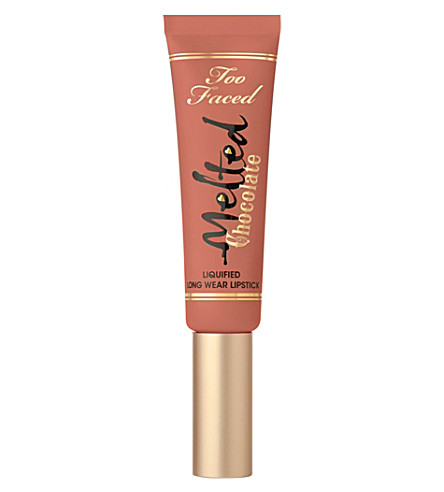 TOO FACED Melted chocolate liquefied lipstick (Chocolate+milkshake