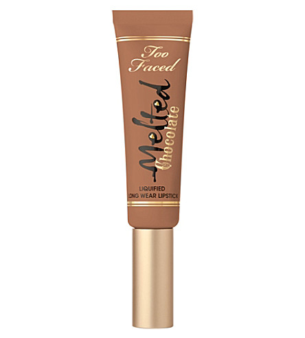 TOO FACED Melted chocolate liquefied lipstick (Chocolate+honey