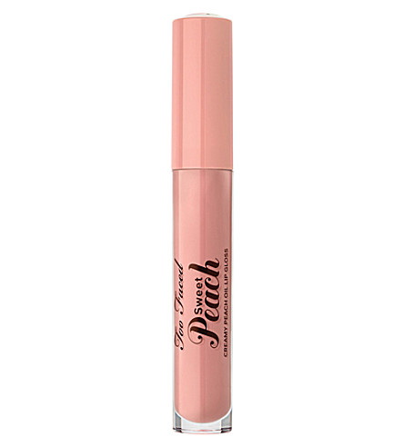 TOO FACED Sweet Peach Creamy Peach Oil Lip Gloss (Peach fuzz