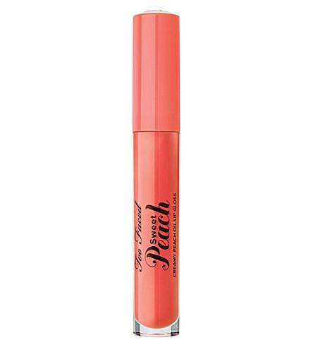 TOO FACED Sweet Peach Creamy Peach Oil Lip Gloss (Peach tease