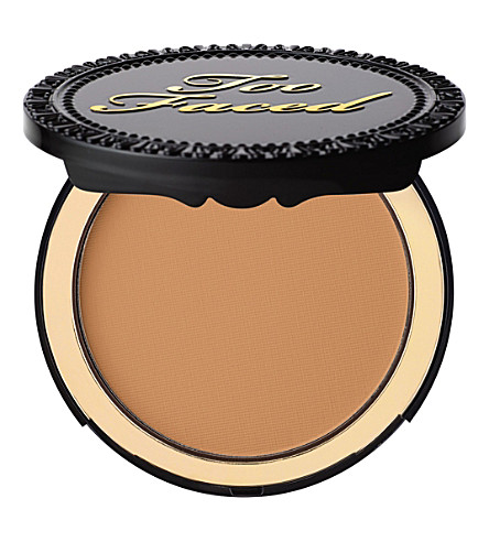 TOO FACED Cocoa powder foundation (Deep+tan