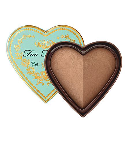 TOO FACED Sweethearts baked luminous glow bronzer (Sweet+tea